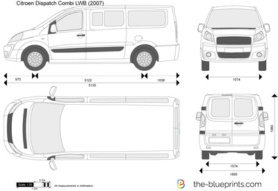 Citroen Dispatch Combi LWB