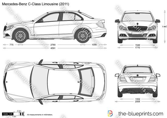 Mercedes-Benz C-Class Limousine W204