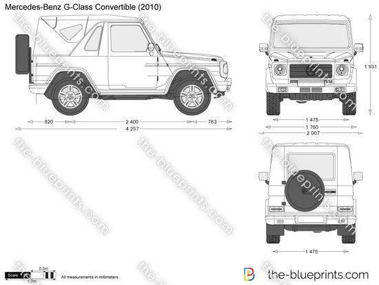 Mercedes-Benz G-Class Convertible