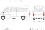 Mercedes-Benz Sprinter MWB High Roof
