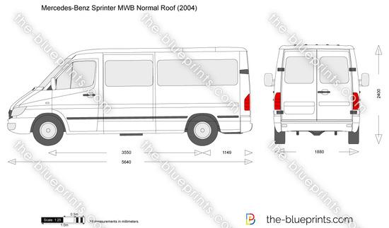 Mercedes-Benz Sprinter MWB Normal Roof