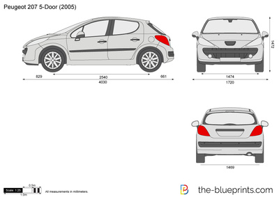 Peugeot 207 5-Door