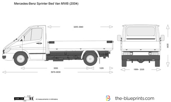 Mercedes-Benz Sprinter Bed Van MWB