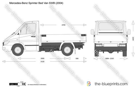 Mercedes-Benz Sprinter Bed Van SWB