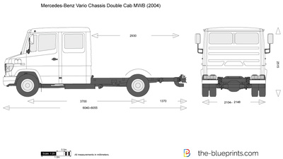 Mercedes-Benz Vario Chassis Double Cab MWB