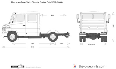 Mercedes-Benz Vario Chassis Double Cab SWB