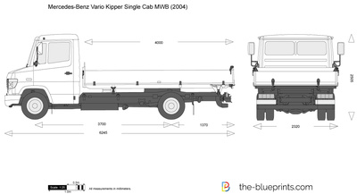 Mercedes-Benz Vario Kipper Single Cab MWB