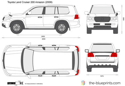 Toyota Land Cruiser 200 Amazon