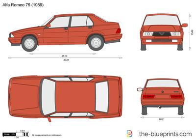 Alfa Romeo 75 (1989)