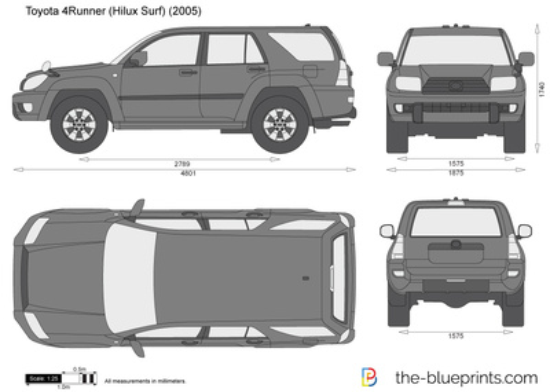 Toyota 4Runner (Hilux Surf)