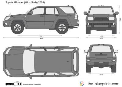 Toyota 4Runner (Hilux Surf) (2005)