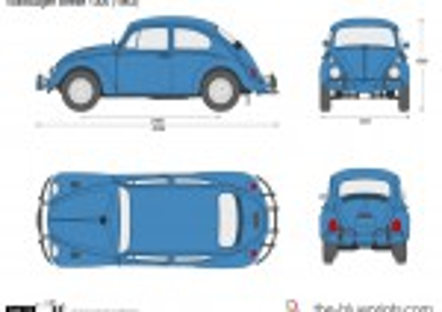 Volkswagen Beetle 1300 (1963)