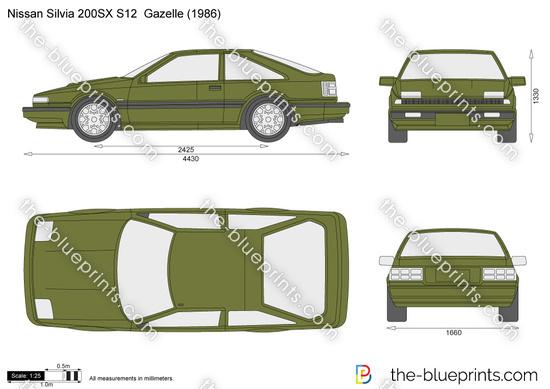 Nissan Silvia 200SX S12  Gazelle
