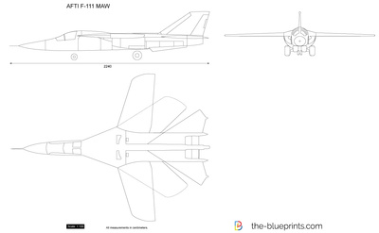 AFTI F-111 MAW