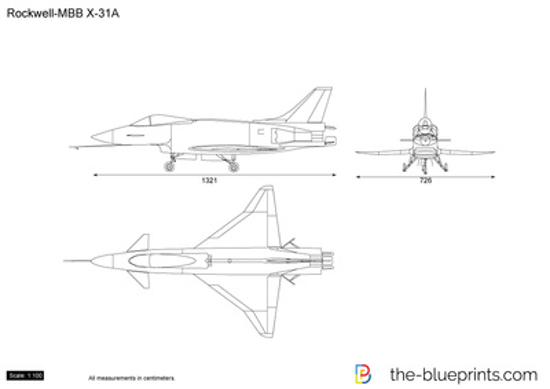 Rockwell-MBB X-31A