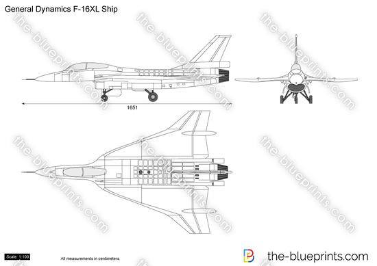General Dynamics F-16XL Ship