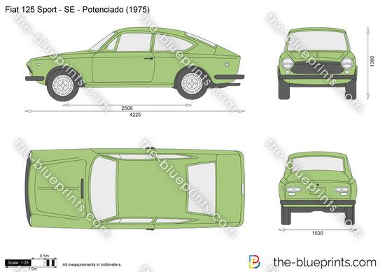 Fiat 125 Sport - SE - Potenciado