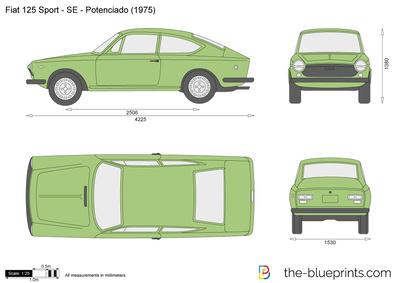 Fiat 125 Sport - SE - Potenciado (1975)