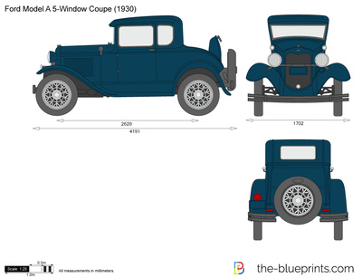 Ford Model A 5-Window Coupe