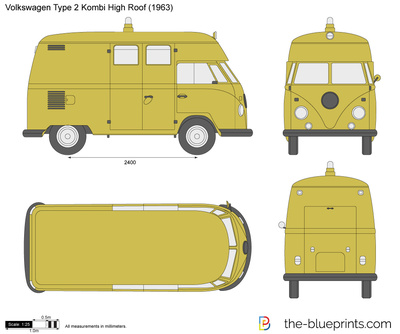 Volkswagen Type 2 Kombi High Roof