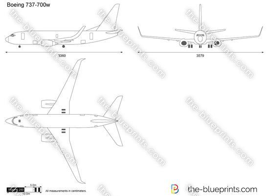 Boeing 737-700w