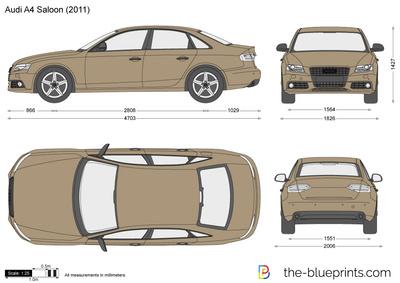 Audi A4 Saloon (2011)