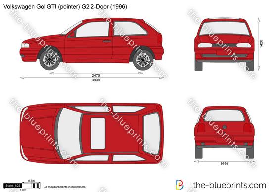 Volkswagen Gol GTI (pointer) G2 2-Door