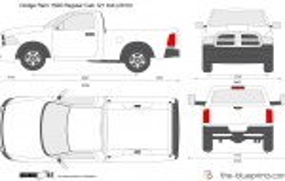 Dodge Ram 1500 Regular Cab 121 4x4