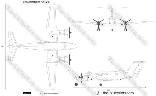 Blueprints Gt Modern Airplanes Gt Beechcraft Gt Beechcraft