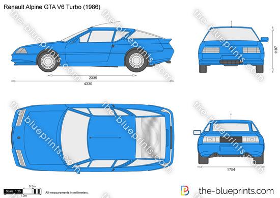 Renault Alpine GTA V6 Turbo