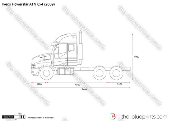 Iveco Powerstar ATN 6x4
