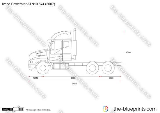 Iveco Powerstar ATN10 6x4