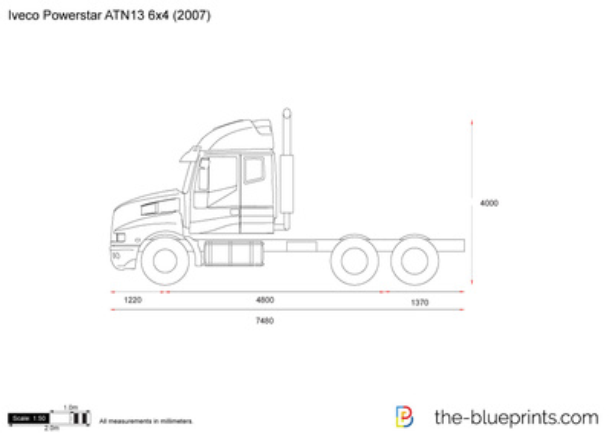 Iveco Powerstar ATN13 6x4