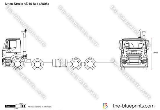 Iveco Stralis AD10 8x4