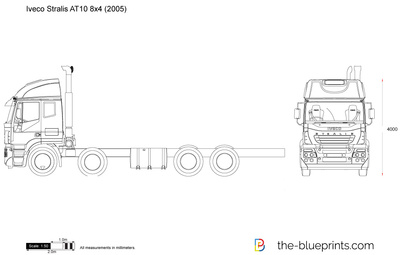 Iveco Stralis AT10 8x4