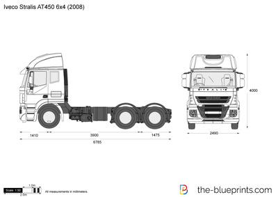 Iveco Stralis AT450 6x4