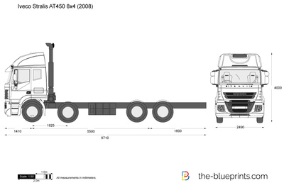 Iveco Stralis AT450 8x4