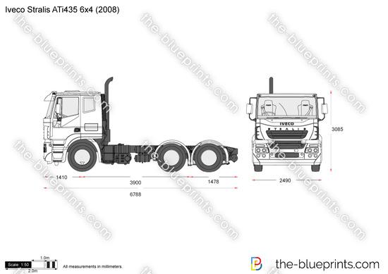 Iveco Stralis ATi435 6x4