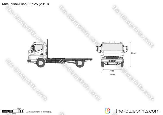 Mitsubishi-Fuso FE125