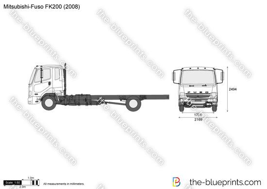 Mitsubishi-Fuso FK200