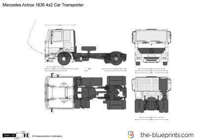 Mercedes-Benz Actros 1836 4x2 Car Transporter