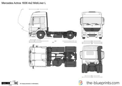 Mercedes-Benz Actros 1836 4x2 MidiLiner L