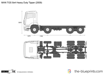 MAN TGS 8x4 Heavy Duty Tipper