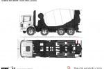 Scania 8x4 Mixer Truck 8M3