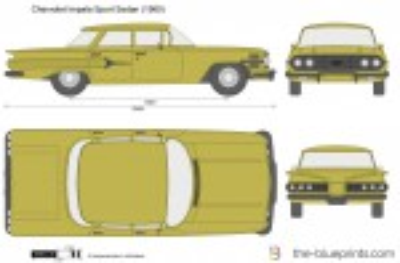 Chevrolet Impala Sport Sedan (1960)