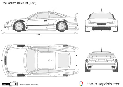 Opel Calibra DTM Cliff