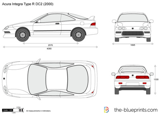 Acura Integra Type R DC2