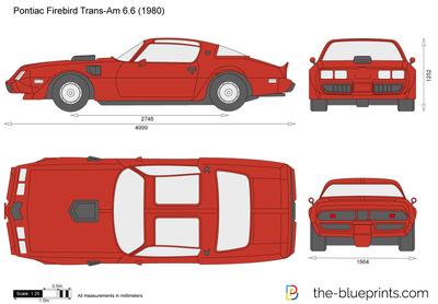 Pontiac Firebird Trans-Am 6.6