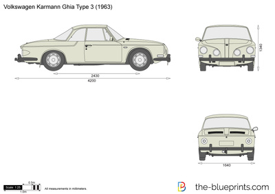 Volkswagen Karmann Ghia Type 3