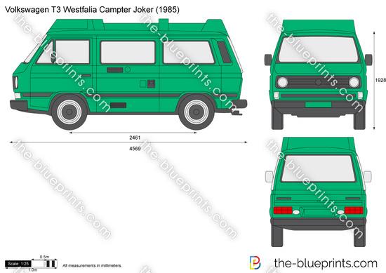 Volkswagen T3 Westfalia Camper Joker